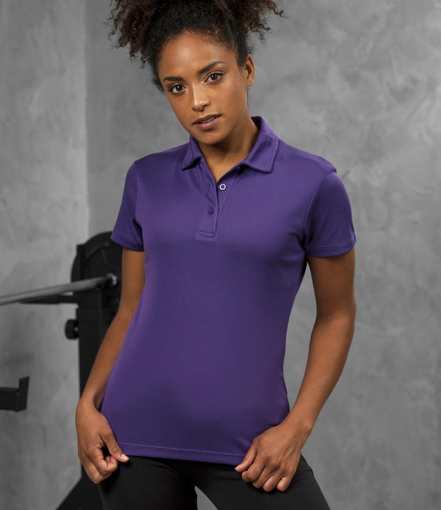 2e1533d0 AWDis Cool Girlie Wicking Polo Shirt - Redrok